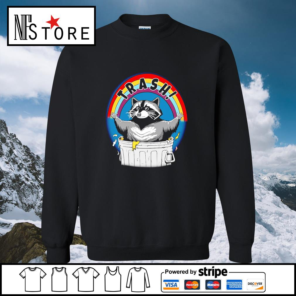 Rocket raccoon trash s sweater