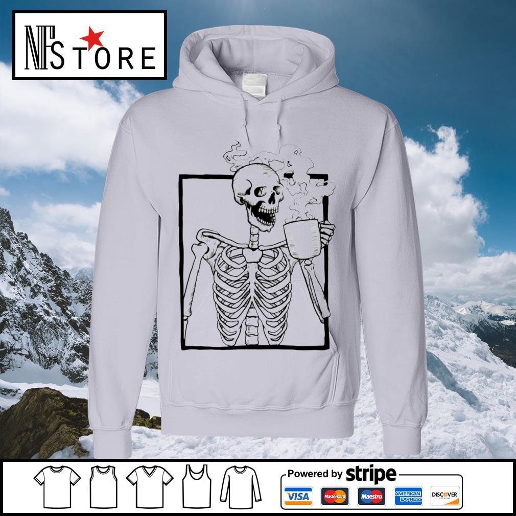 Skeleton coffee s hoodie