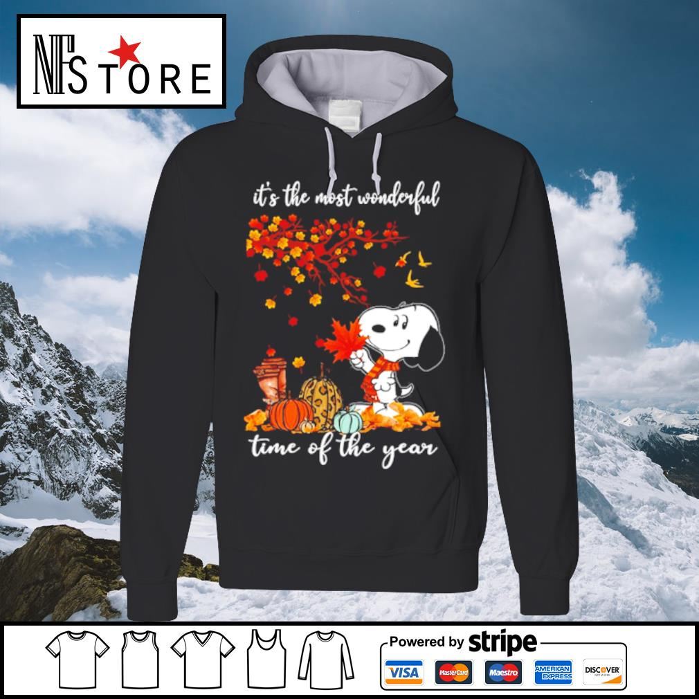 Snoopy It_s the mót wonderful time ò the year s hoodie