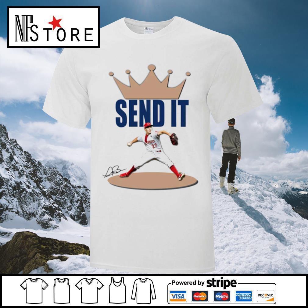 Trevor Bauer send it shirt
