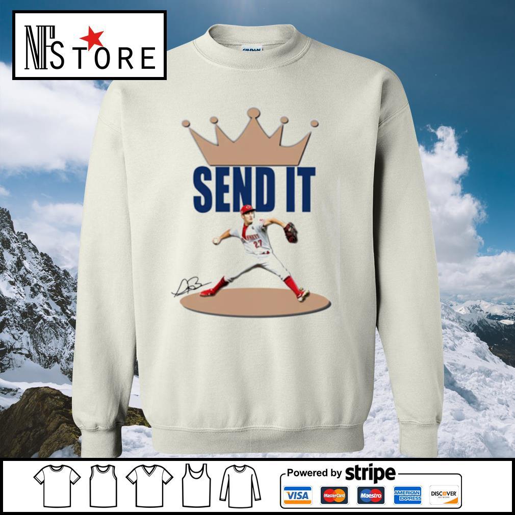Trevor Bauer send it s sweater